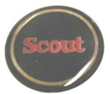 Picture of 1979 Scout Rallye Steering Wheel Horn Button Emblem