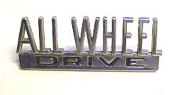 Picture of All Wheel Drive Emblem for Scout 80-800, Pickup and Travelall