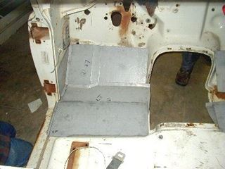 Picture of Front Floor kit Left, '69-'75 Pickup Travelall