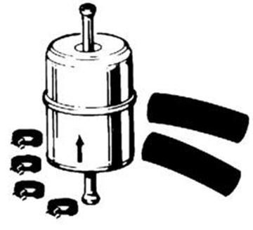 Picture of Fuel Filter (Metal) IH Gas Engines