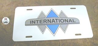 Picture of Triple Diamond License Plate
