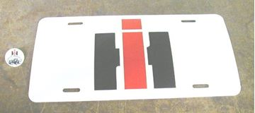 Picture of IH License Plate