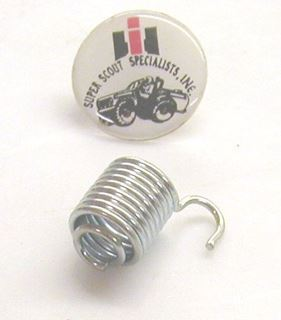 Picture of Headlight Bucket Hold Down Spring, 1980 Scout II
