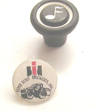 Picture of Radio Knob NOS, Scout II, '69-'75 Pickup Travelall