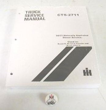 Picture of Diesel SD633 Non-turbo Service Manual, Scout II