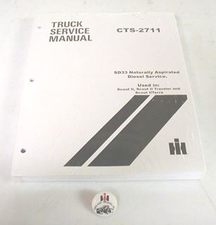 Picture of Diesel SD633T Turbo Service Manual, Scout II