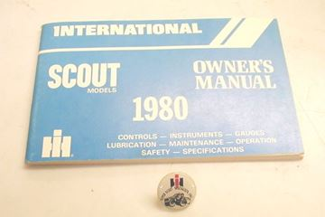 Picture of IH Owners/Operators Manual, 1980 Scout II NOS
