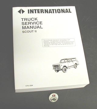 Picture of IH Service Manual, Scout II '71-'75