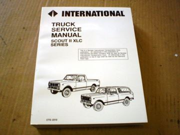 Picture of IH Service Manual, Scout II '76-'77