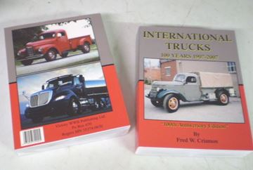 Picture of 100 Years of International Trucks Book, By Fred Crisman