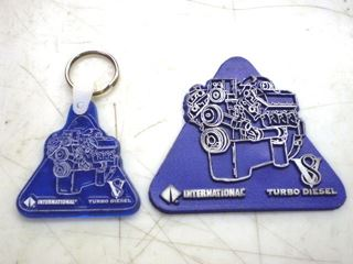 Picture of International v8 Turbo Diesel Key Chain