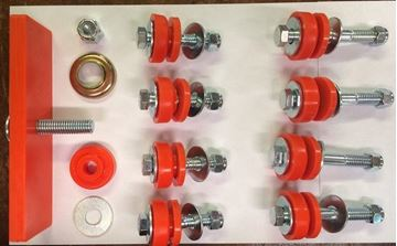 Picture of SSS Polyurethane Body Mount Bushing Kit, Scout 80 800