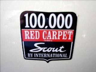 Picture of Scout 80 Red Carpet Decal