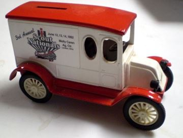Picture of Scale Model Diecast 1921 Truck Scout Nationals RARE