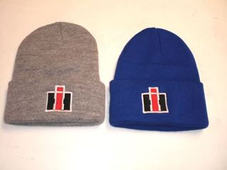 Picture of Blue IH Winter Knit Beanies! (Embroidered)
