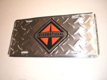 Picture of ITEC Metal License Plate!