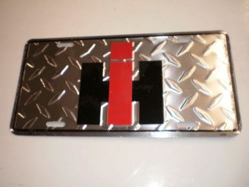 Picture of Diamond Metal IH License Plate!