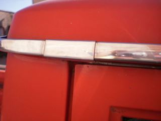 Picture of Chrome Drip Moulding Trim Clip NOS for '69-'75 Pickup Travelall