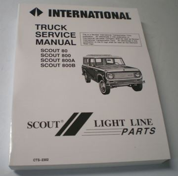 Picture of IH Service Manual, Scout 80 and 800