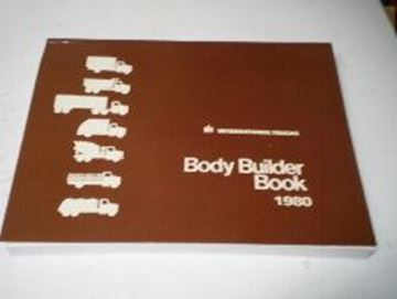 Picture of IH Service 1980 Body Builder Book, Scout II, Medium & Heavy Duty