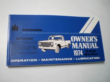 Picture of IH Owners/Operators Manual, 1974 Pickup