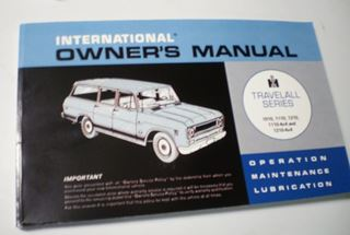 Picture of IH Owners/Operators Manual, 1970-71 Travelall