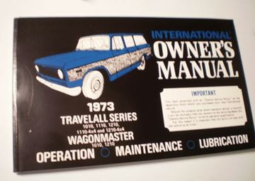 Picture of IH Owners/Operators Manual, 1973 Travelall