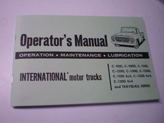 Picture of IH Owners/Operators Manual, 1963-64 Pickup Travelall