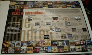 Picture of 100 Years of International 1902-2002 SPECIAL POSTER!