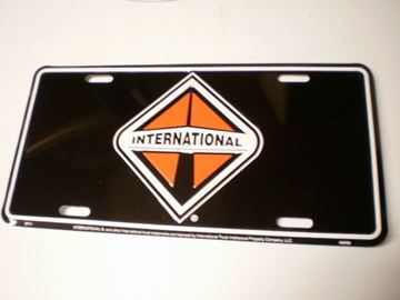 Picture of Black ITEC Metal License Plate