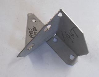 Picture of Corner Post Gusset Left Rear Lower, Scout 71-80
