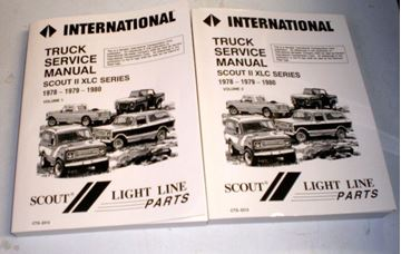 Picture of IH Service Manual, Scout II '78-'80