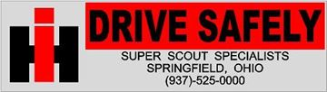 "Picture of SSS ""Vintage Look"" Drive Safely Decals"