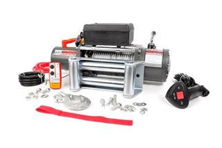 "Picture of Rough Country! 9500LB ELECTRIC WINCH (5/16"" Steel Cable)"