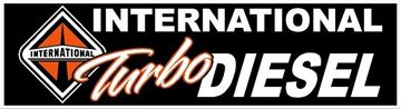 Picture of International Turbo Diesel Bumper Sticker