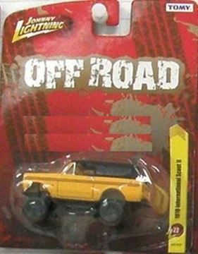 Picture of Johnny Lightning 1:64 Scale Diecast Scout II! Butterscotch IN STOCK