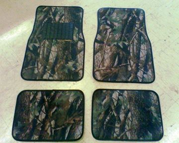 Picture of Camo floor mats