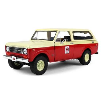 Picture of First Gear Diecast 1/25 Scale Scout Traveler, RED and TAN IH