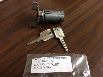 Picture of Scout II Ignition tumbler with Keys