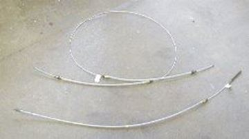 "Picture of Rear Brake Cable, 79-80 Scout II 100""wb"