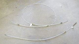 "Picture of Rear Brake Cable, 79-80 Scout Terra or Traveler 118""wb"