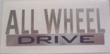 Picture of ALL WHEEL DRIVE Eliminator decal