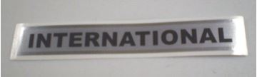 Picture of International Tailgate Emblem Decal