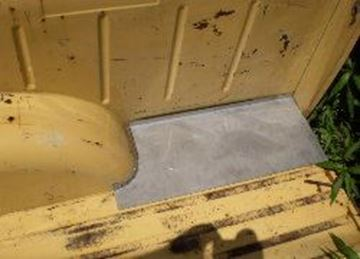 Picture of Rear Floor Patch Right Rear, Scout II