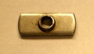 "Picture of Body Part Mountin Nut, Centered 3/8"" Hole"