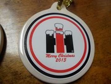 Picture of 2013 Snowy IH Christmas Ornament