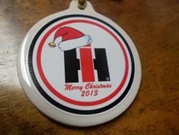 Picture of 2013 Santa's Cap IH Christmas Ornament