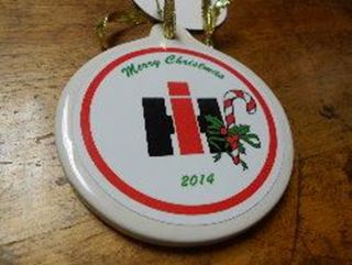 Picture of 2014 Candy Cane IH Ornament