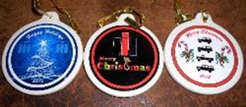Picture of 2015 SET of 3 Ornaments