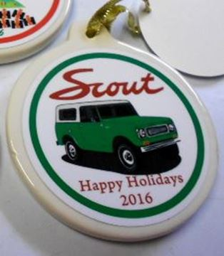 Picture of 2016 IH Scout 800 Ornament
